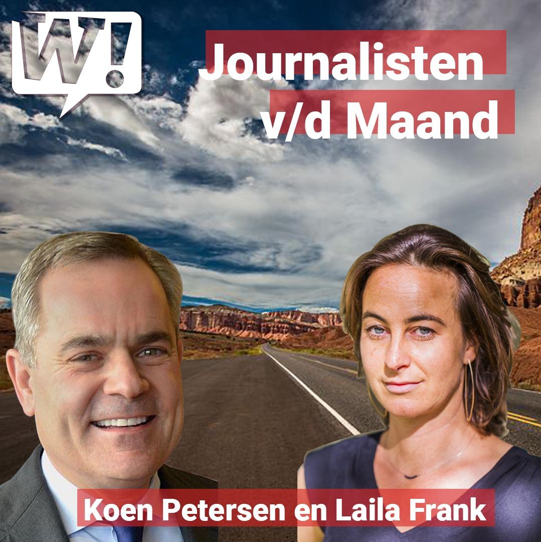 Journalisten van de Maand: Koen Petersen en Laila Frank
